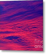 Pink And Purlple Morning Metal Print