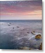 Pink Seasunset Metal Print