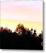 Pink Skies Metal Print by Lorraine Louwerse