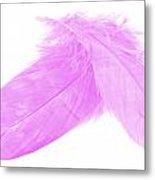 Pinks Crossed Metal Print