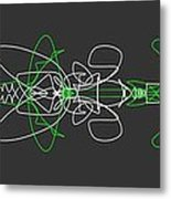 Pinstripes Metal Print