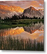 Pioneer Basin Metal Print by Buck Forester