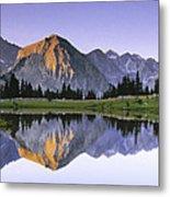 Pioneer Basin Morning Panorama Metal Print
