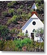 Pioneer Church Metal Print