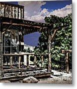 Pioneer House Metal Print by Danuta Bennett