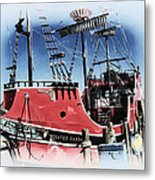 Pirates Ransom - Clearwater Florida Metal Print