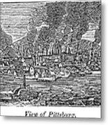 Pittsburgh, 1836 Metal Print