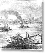 Pittsburgh, 1853 Metal Print