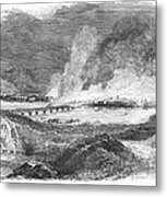Pittsburgh: Fire, 1845 Metal Print