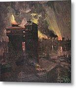 Pittsburgh: Furnaces, 1885 Metal Print