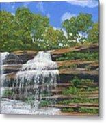 Pixley Falls Metal Print