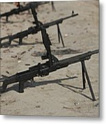 Pk General-purpose Machine Guns Stand Metal Print