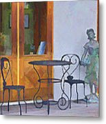 Place For Contemplation Metal Print