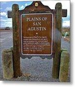 Plains Of San Agustin Metal Print