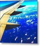 Plane Time Metal Print