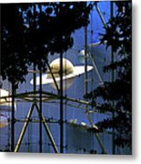 Planets in the Park Metal Print