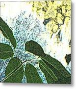 Plant Life Inside-outside Metal Print