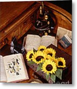 Plants And Seeds Metal Print by Science Source