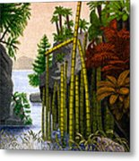 Plants Of The Triassic Period Metal Print