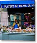 Plateau De Fruits De Mer Metal Print