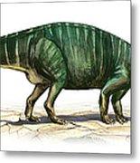 Plateosaurus Engelhardti, A Prehistoric Metal Print