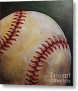 Play Ball No. 2 Metal Print
