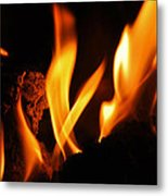 Playing With Fire I Metal Print