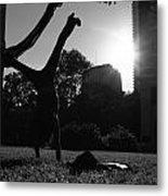 Playing With The Sun II - Philadelphia - Pensilvania - Sunset Metal Print