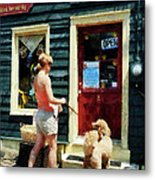 Please Can I Have A Treat Metal Print