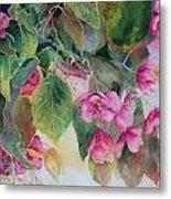 Plum Blossom Metal Print