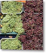 Pluots Grapes And Tomatoes - 5d17903 Metal Print