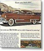 Plymouth De Soto 1953 Metal Print