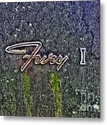 Plymouth Fury Logo Metal Print
