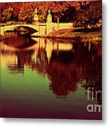 Pocket Of The City Metal Print by Dana DiPasquale