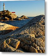 Point Atchison Lighthouse 1 Metal Print