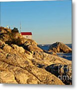 Point Atchison Lighthouse 2 Metal Print