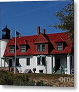 Point Betsie Light Station Metal Print
