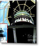 Point Loma Lighthouse Lens Metal Print