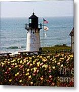 Point Montara Lighthouse Vista Metal Print