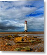 Point Of Ayr Beach Metal Print by Adrian Evans