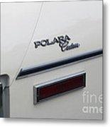 Polara Custom Emblem Metal Print