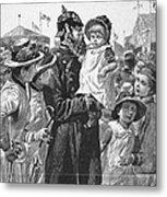 Policeman, 1885 Metal Print