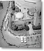 Polio Immunization, Aerial View, 1962 Metal Print
