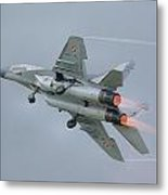 Polish Air Force Mig-29 Metal Print