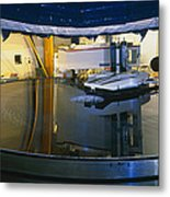 Polishing Of Mirror For Use In Gemini Telescope Metal Print
