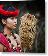 Polynesian Beauty Metal Print by Ralf Kaiser
