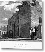 Pompeii: Bathhouse, C1830 Metal Print