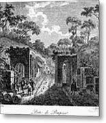 Pompeii: Herculaneum Gate Metal Print