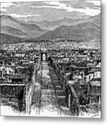 Pompeii: Ruins, C1880 Metal Print