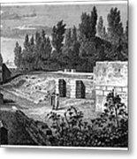 Pompeii: Stairs, C1830 Metal Print